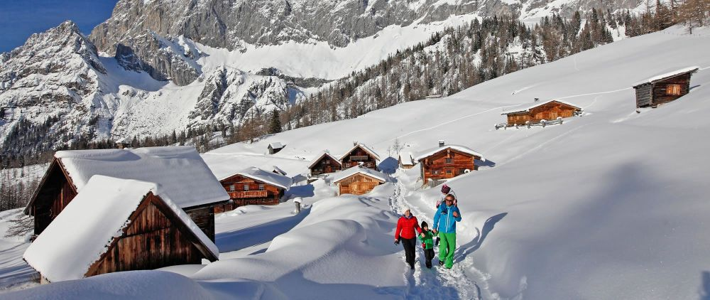 Aktiver Winterurlaub in Ramsau am Dachstein